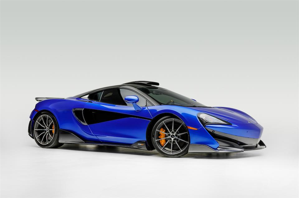 2019  McLaren 600 LT   VIN. SBM13RAA5KW008481
