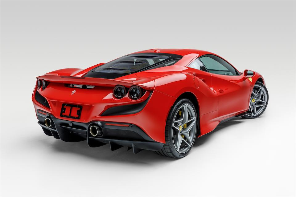 2020 Ferrari  F8 Tributo  VIN. ZFF92LLA9L0256179