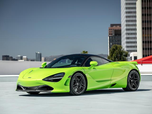 2019 McLaren 720S  VIN. SBM14DCA9KW002468