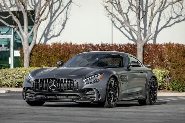 2018 Mercedes-AMG GT R  VIN. WDDYJ7KA4JA018209