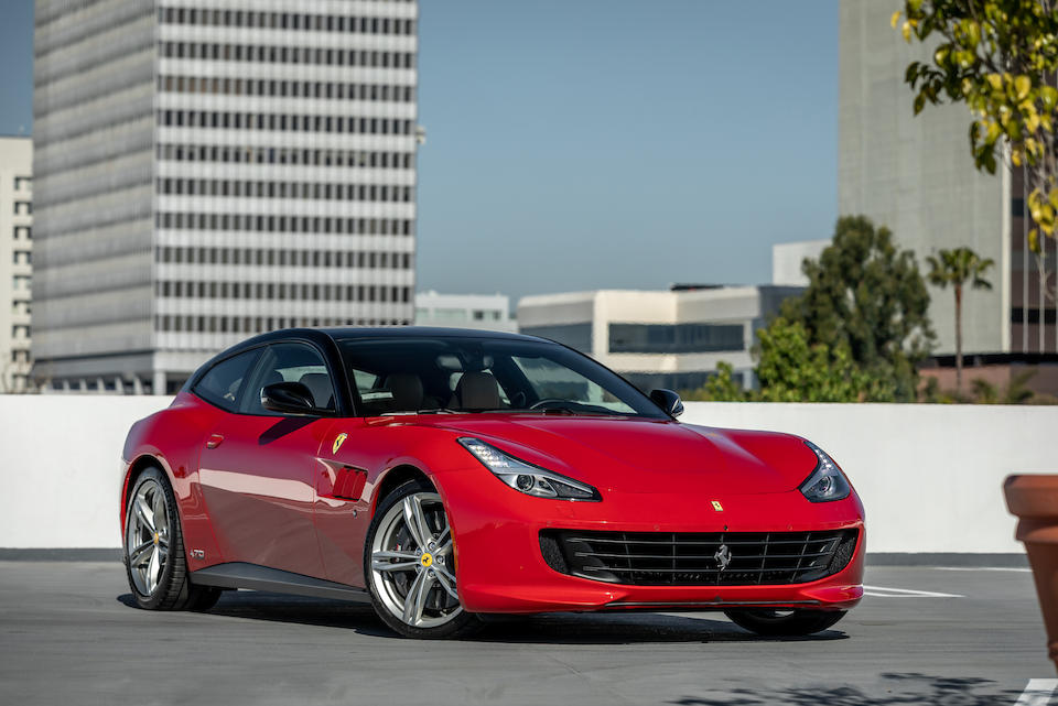 2018 Ferrari  GTC4 Lusso 70th Anniversary Edition  VIN.ZFF82WNA8J0232365