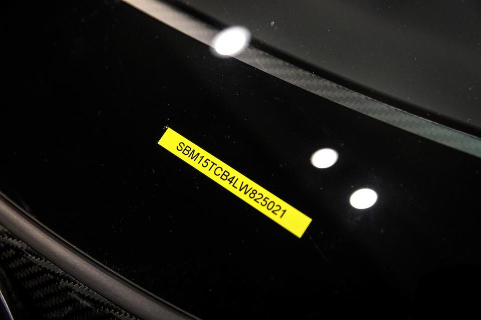 2019 McLaren Senna GTR  VIN. SBM15TCB4LW825021