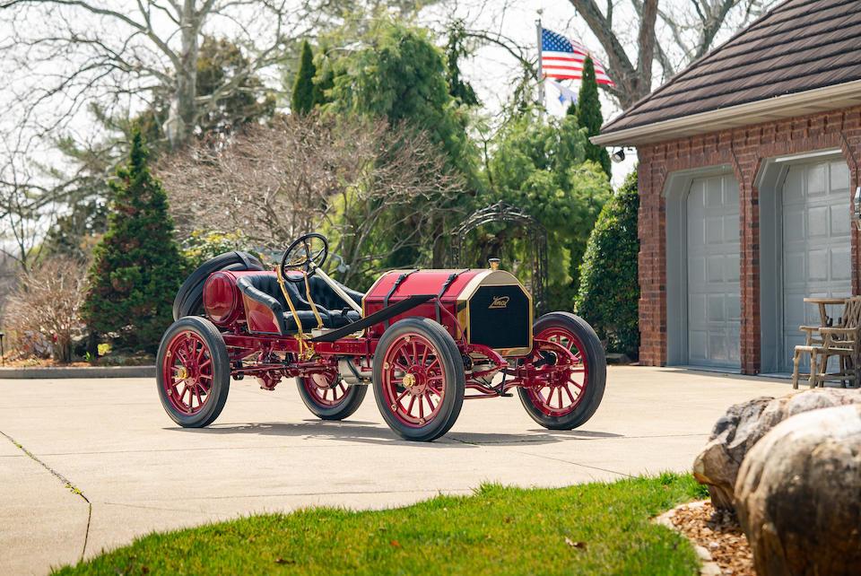 "<b>1909 Knox Model R ""Raceabout""  </b><br />Engine no. 2LR"