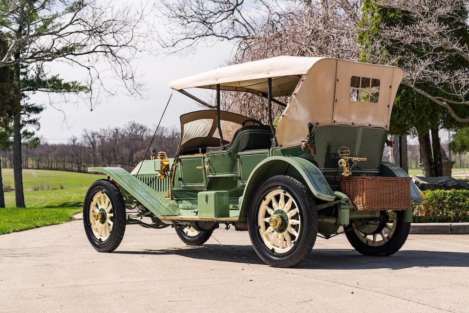 <b>1911 Locomobile Model 30 L-Type Baby Tonneau  </b><br />Chassis no. 4330 <br />Engine no. 5705