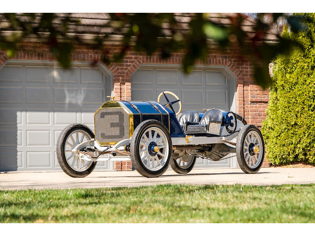 <b>1911 Inter-State Fifty 'Bulldog' Indianapolis Recreation  </b><br />Engine no. 4157<br />Transmission no. 4158