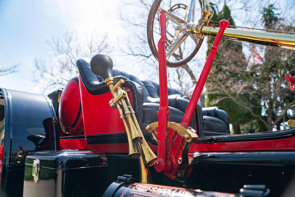 <b>1912 Stutz Bear Cat  </b><br />Chassis no. A163 <br />Engine no. A354