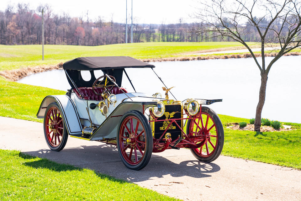 <b>1912 American Underslung Model 22 Scout  </B><br />Chassis no. X266 <br />Engine no. X278