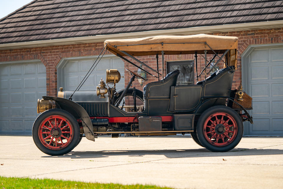 <b>1907 Locomobile Model H 35hp Touring Car  </b><br />Chassis no. 1578 <br />Engine no. 1291