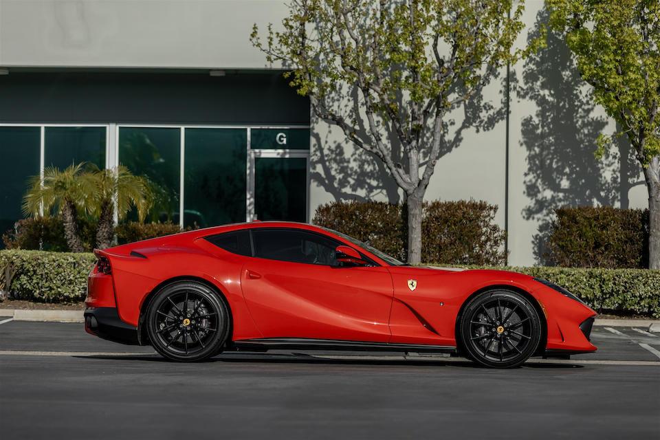 2019 Ferrari  812 Superfast  VIN. ZFF83CLA6K0246619