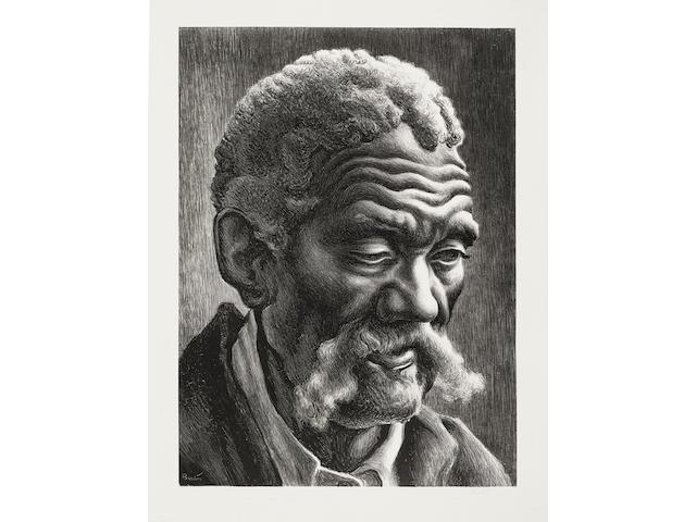Thomas Hart Benton (1889-1975); Aaron;