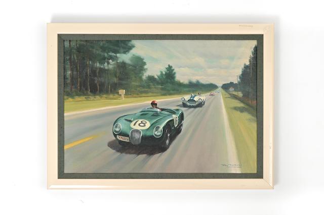 Roy Nockolds (British, 1911-1979),  '1953 Le Mans',