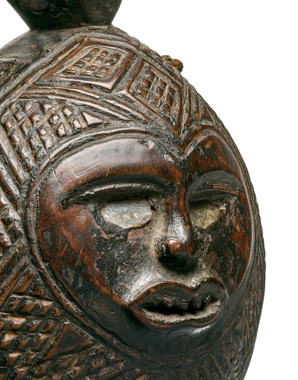 Superb and Rare Kongo Chief's Bell, Democratic Republic of the Congo