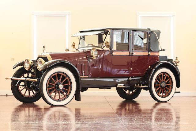 <b>1912 Crane Model 3 Four Passenger Sport Landau  </b><br />Chassis no. 25