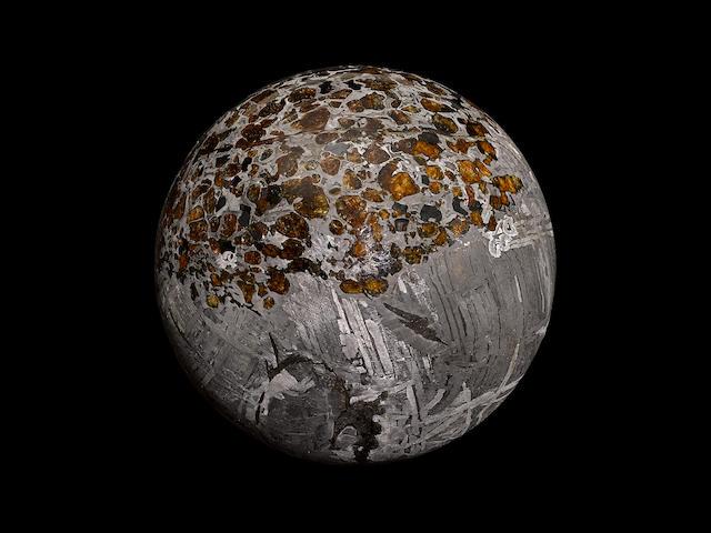 Large Seymchan Pallasitic Sphere