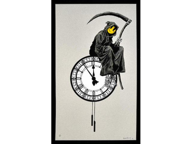Banksy (born 1975); Grin Reaper;