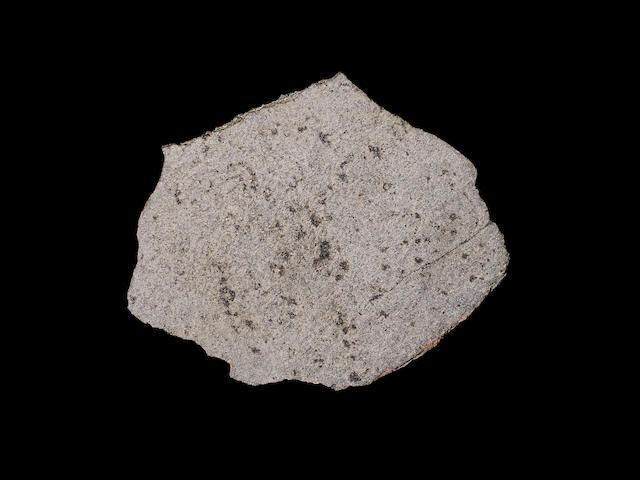 Large Martian Meteorite – Complete Slice