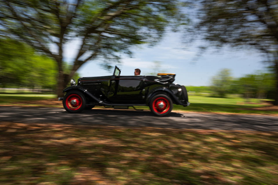 <b>1932 Ford Model 18 V-8 Drophead Coupe  </b><br />Chassis no. C18R1642