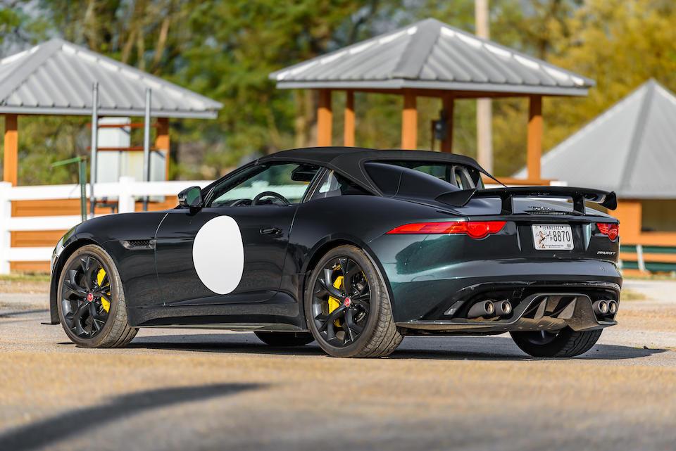 <b>2016 Jaguar F-Type Project 7 Roadster</b><br />VIN. SAJWA7A8XGMK27480  <br />Engine no. 15051501172508PS