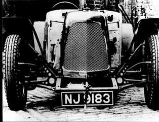 <b>1935 Godsal Sports Tourer  </b><br />Chassis no. 001