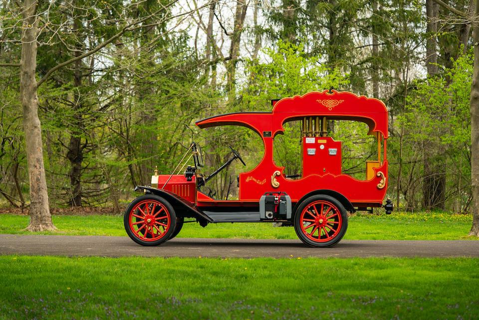 <b>1915 Ford Model T C-Cab Calliope Truck  </b><br />Engine no. 4601046