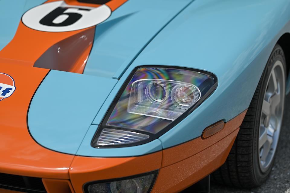<b>2006 Ford GT Heritage Edition  </b><br />VIN. 1FAFP90S66Y400284