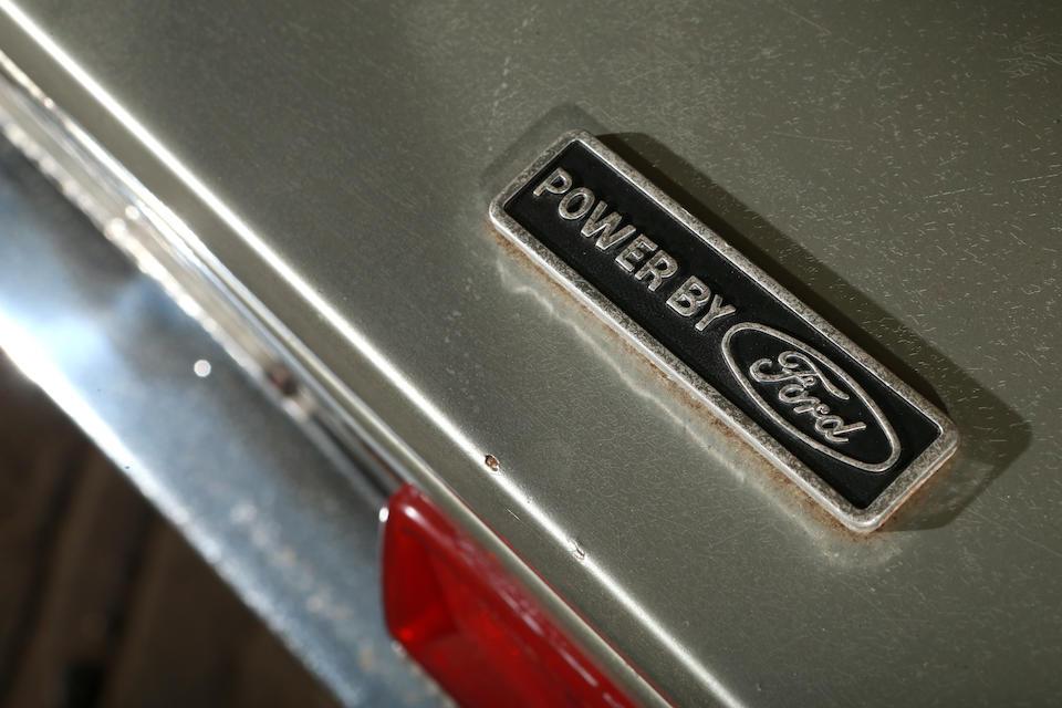 "<b>1971 De Tomaso Pantera ""Pulsante""  </b><br />Chassis no. THPNLE01379"