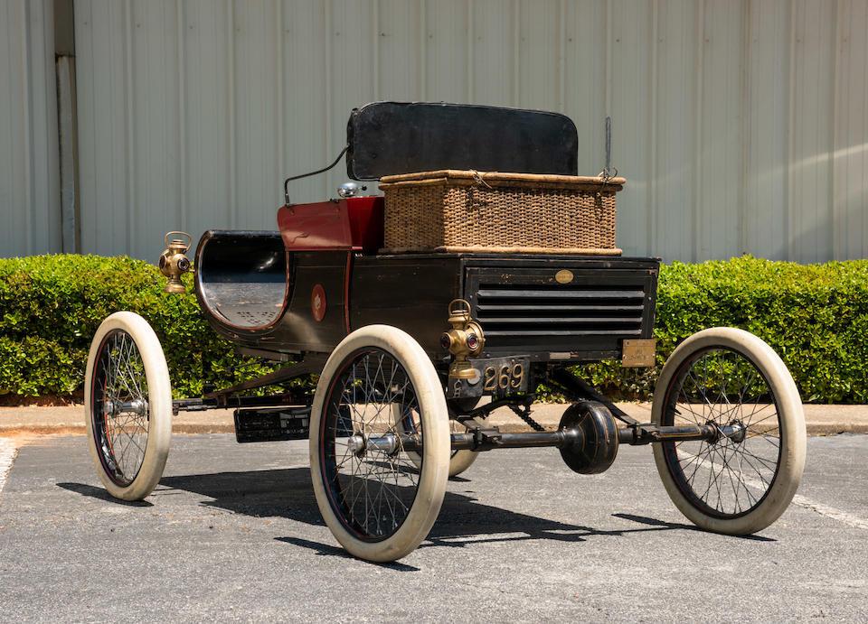 <b>1901 Oldsmobile Model R Curved Dash Runabout  </b><br />Engine no. 6269