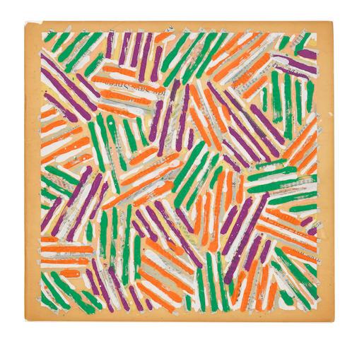 Jasper Johns (born 1930); Untitled, (ULAE S13);