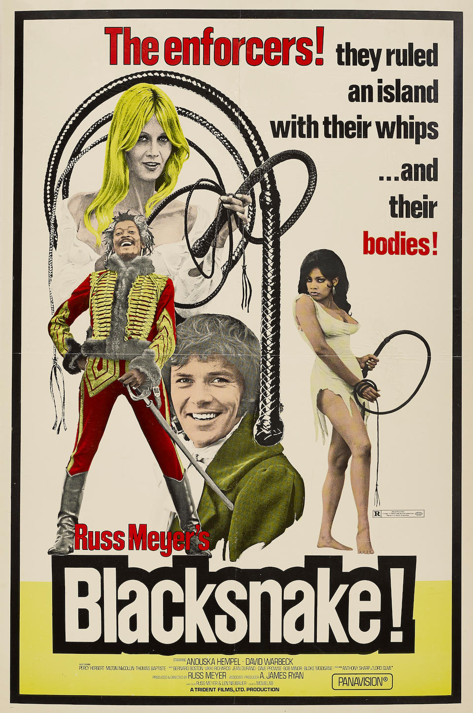 A Russ Meyer large group of posters