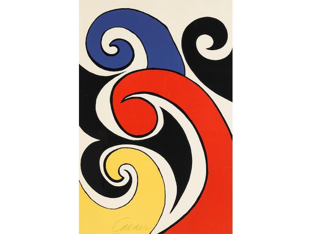 Alexander Calder (1898-1976); Les Vagues;