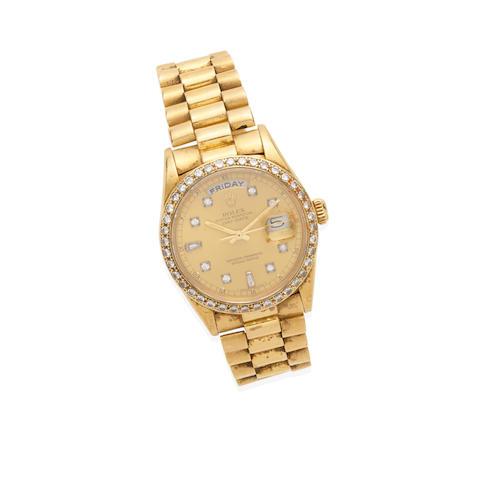 A Russ Meyer diamond wristwatch