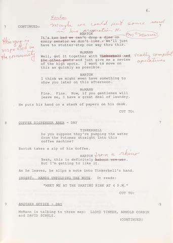 A Marlon Brando screenplay for Jericho