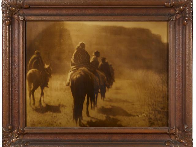 Edward S. Curtis (1868-1952); The Vanishing Race;