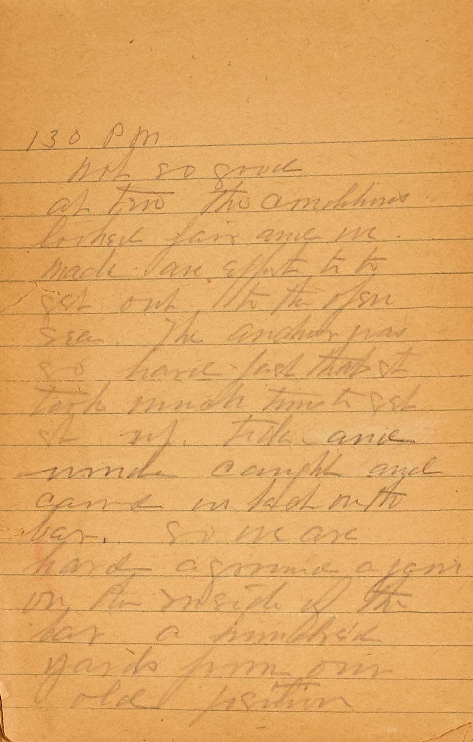 """LOGS AND JOURNALS OF CURTIS'S 1927 ALASKA EXPEDITION. 1.""""Original Log—1927—Alaska."""" Autograph Manuscript Signed in block print (""""Edward S. Curtis"""") to upper cover, in pencil,"""