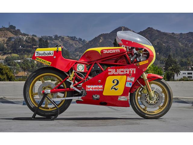 1981 Ducati TT2 Frame no. DM600SL 000022 Engine no. DM600SL 700128