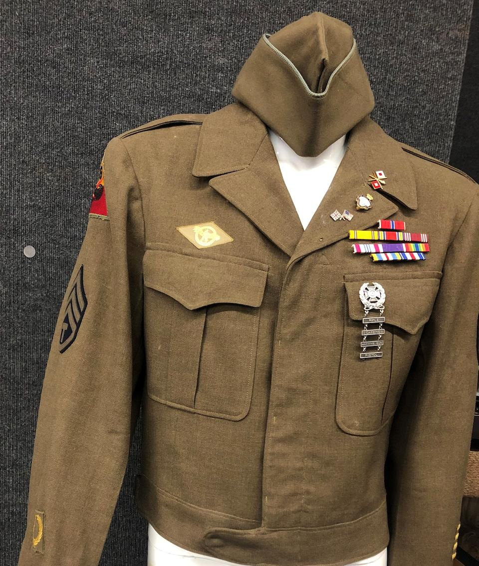 A Russ Meyer group of memorabilia related to his Army career