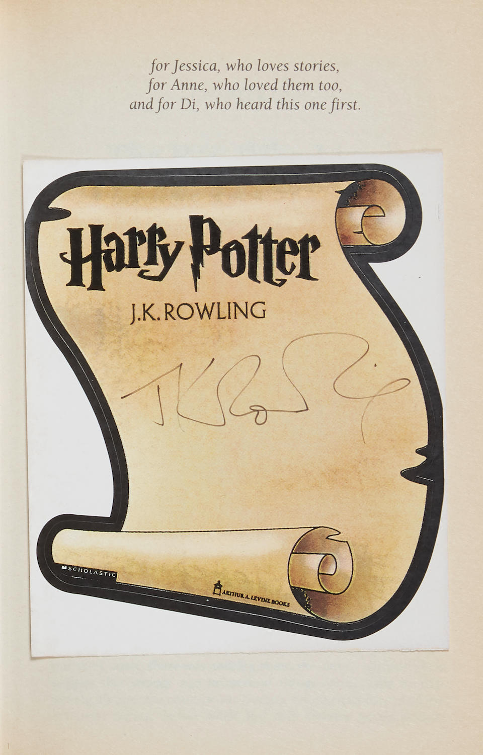 ROWLING, J.K. B. 1965. Harry Potter and the Philosopher's Stone. London: Bloomsbury, [1997].