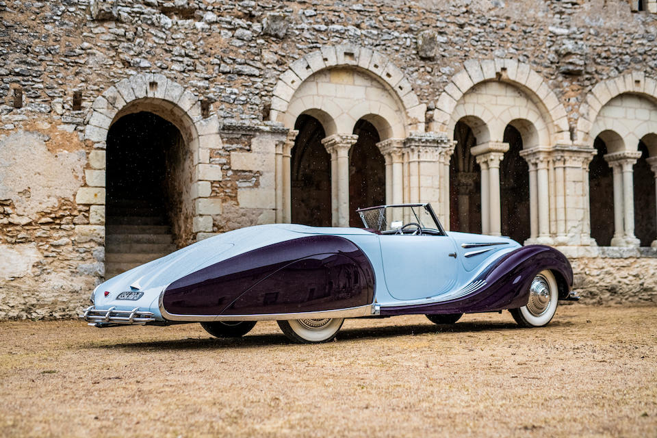 1948 Talbot-Lago T26 Record Sport Cabriolet D&#233;capotable <br /> Chassis no. 3179 <br />Talbot-Lago Car No. 100234<br /> Engine no. 26179