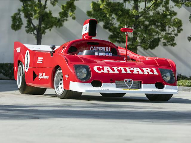 1974 Alfa Romeo Tipo 33 TT 12  <br />Chassis no. AR11512*010* <br />Engine no. 11512 071