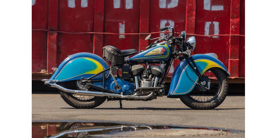 1940 Indian Sport Scout  Frame no. 640171 Engine no. FD0171
