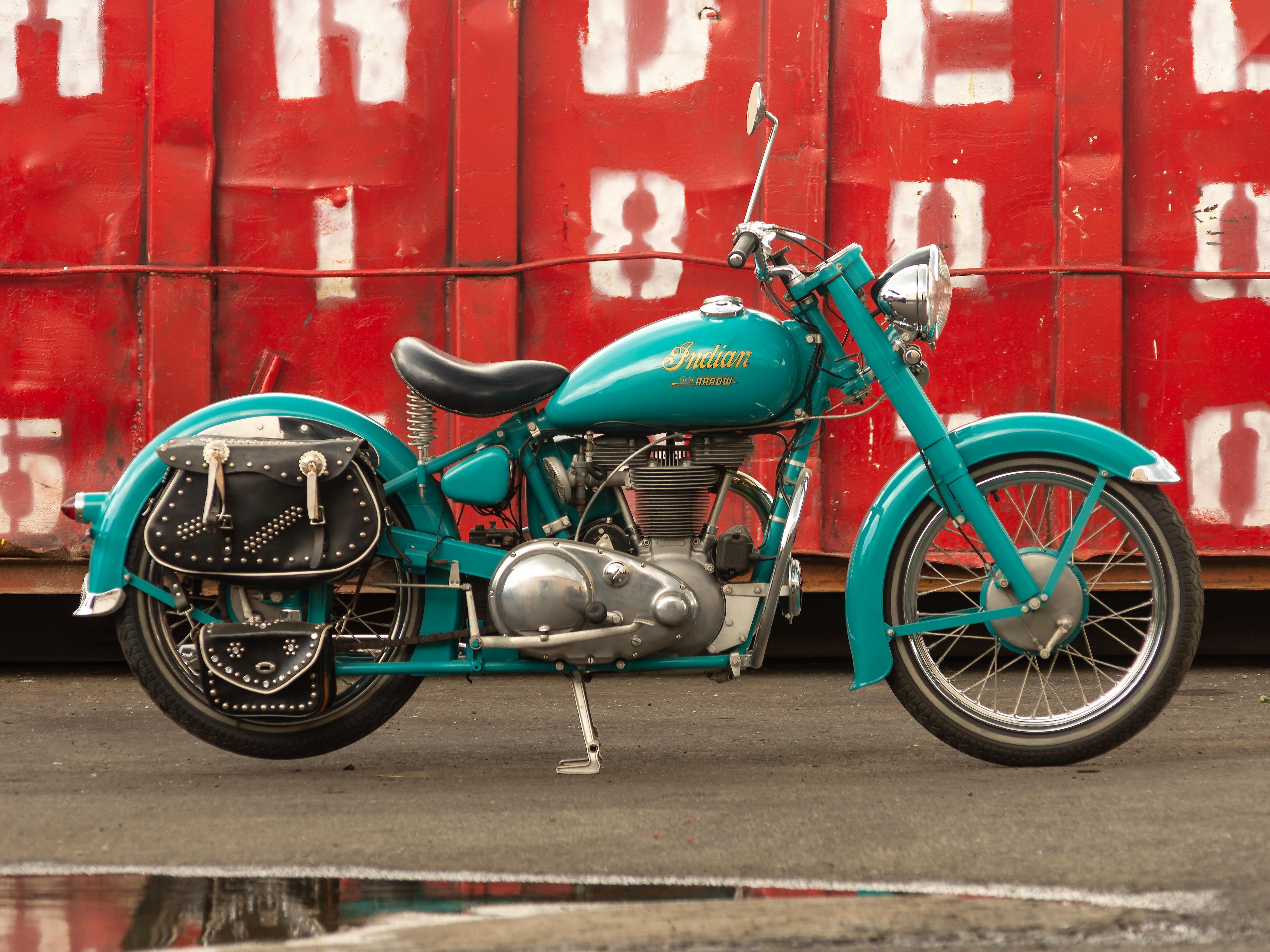 1949 Indian 220cc Gold Arrow Engine no. AD13988