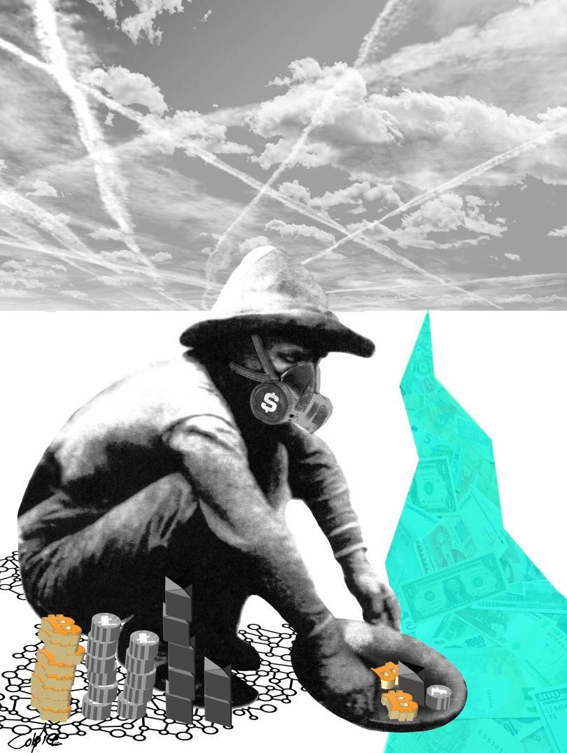 COLDIE (B. 1982) Proof of Work - Genesis conceived 2018, minted June 16, 2021