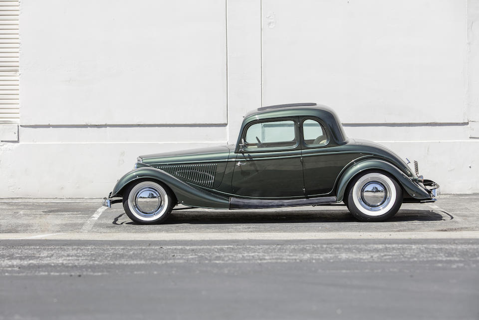 1933 Ford 5-Window Coupe Hot Rod  <br /> Chassis no. 18116978