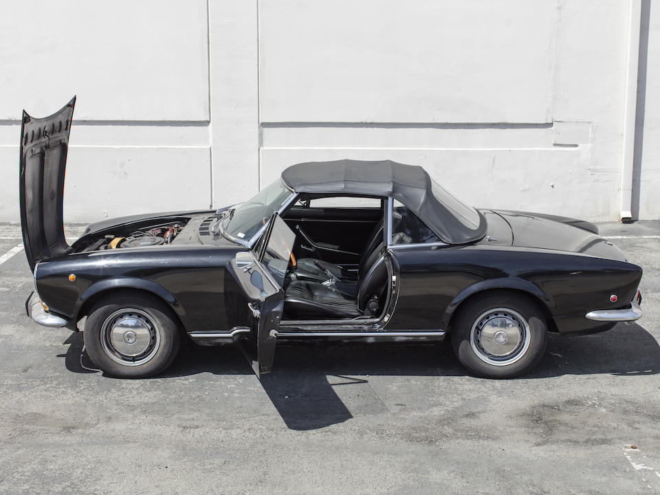 1969 Fiat 124 Sport Spider<br />  Chassis no. 124AS.0011630