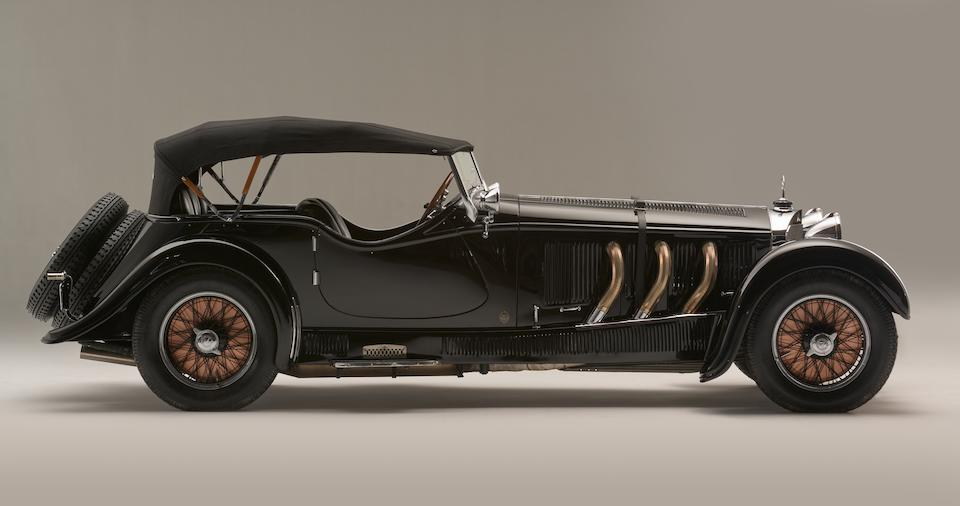 1928 Mercedes-Benz 26/120/180-S-Type Supercharged Sports Tourer  <br />Chassis no. 35920<br /> Engine no. 68674