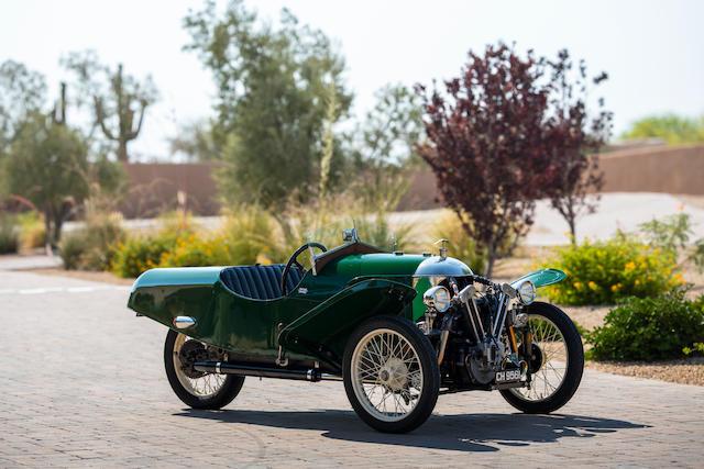 1930 Morgan 3-Wheeler AERO SUPER SPORTS <br /> Chassis no. M301  <br />Engine no. 90/93/S