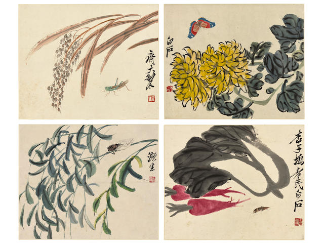 Qi Baishi (1864-1957)  Plants and Insects (4)