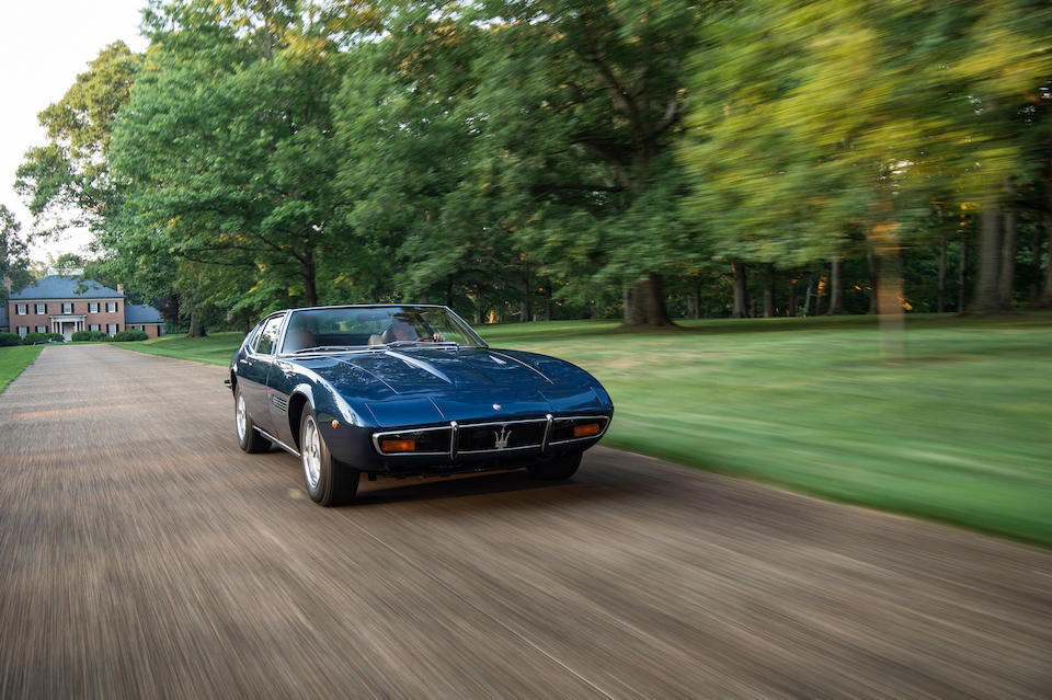 1970 Maserati  Ghibli 4.7 Coupe <br /> Chassis no. AM115.1568 <br />Engine no. AM115.1568