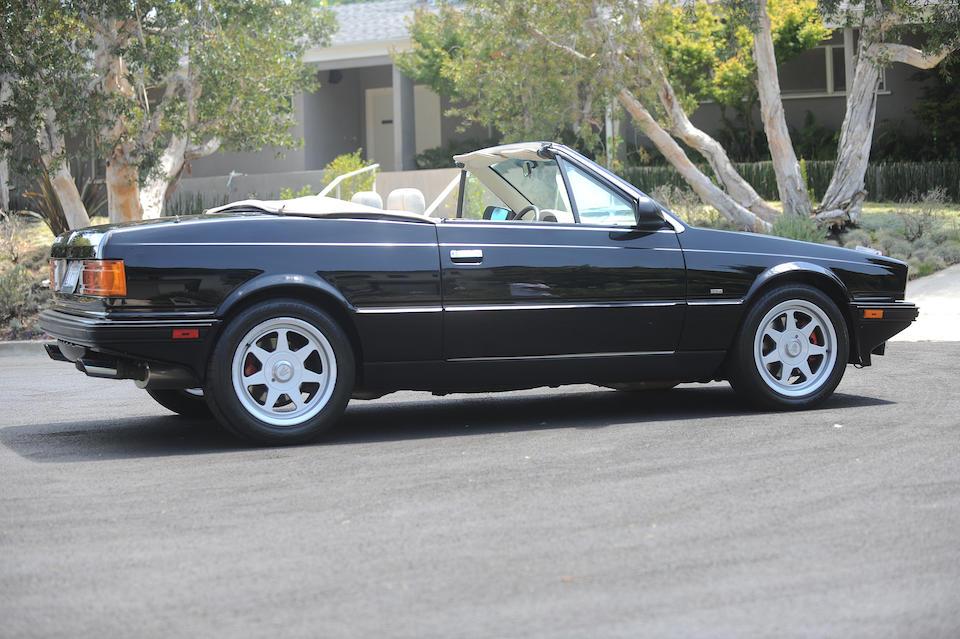 1990 Maserati  Biturbo Spyder<br />VIN. ZAMFN1104LA331948
