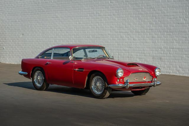 <b>1960 Aston Martin DB4 Series II Sports Saloon  </b><br />Chassis no. DB4/438/L <br />Engine no. 370/484
